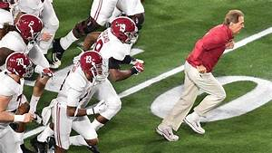 College Football National Championship: Alabama Crimson ...