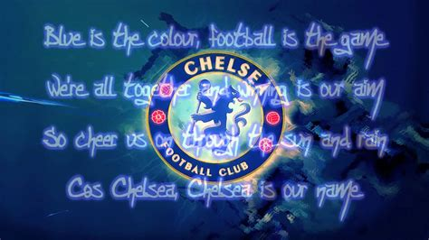 songs with colors in them chelsea fc theme song blue is the color lyrics hd chords