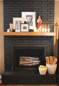 beautiful dark gray black fireplaces With what kind of paint to use on kitchen cabinets for wall art fireplace