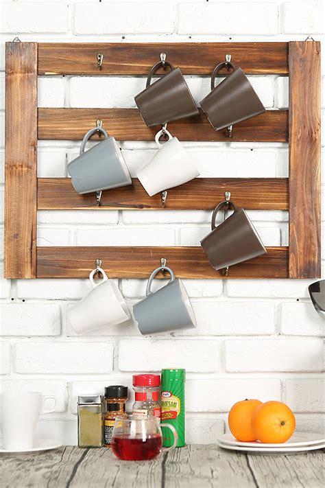 This customizable coffee rack is the perfect addition to your coffee bar or kitchen area. The Best Mug Racks - Where to Buy Coffee Mug Racks