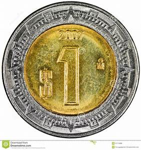 Mexican Peso Stock Photo  Image Of Macro  Economy  Gold
