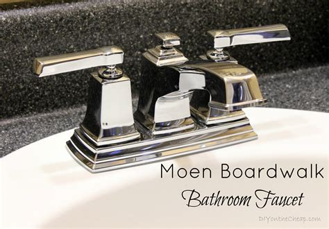 Moen Boardwalk Faucet Chrome by How To Install A Bathroom Faucet Erin Spain