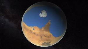 Did Ancient Mars Have Continents?