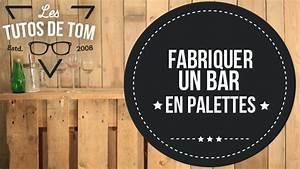 Planche De Bois Pour Bureau : d licieux planche de bois pour bureau 9 diy fabriquer un bar en palettes video sur deco fr ~ Teatrodelosmanantiales.com Idées de Décoration