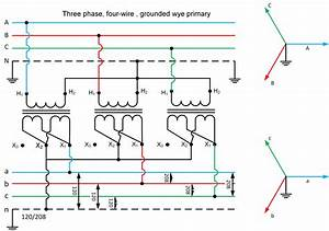 Wiring Diagrams Three Phase Transformers