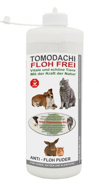 flohkiller anti floh puder kieselgur flohmittel fuer