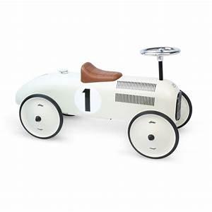 Retro Bebe Voiture : porteur voiture vintage beige en m tal d s 18m vilac ~ Teatrodelosmanantiales.com Idées de Décoration