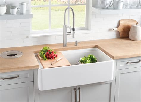 what are kitchen sinks made out of blanco profina apron front single bowl kitchen sink blanco 9830