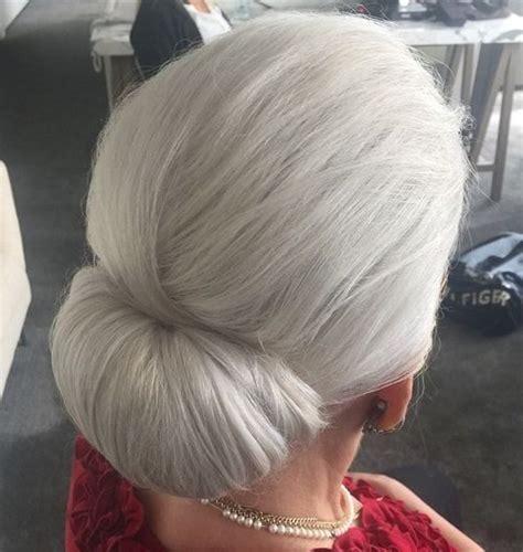 incredible long hairstyle  older women