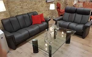 2 Sitzer Sofa Leder : stressless sofa 3 sitzer 2 sitzer legend m lederfarbe rock ~ Bigdaddyawards.com Haus und Dekorationen