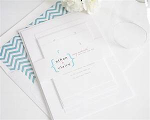 ultra modern wedding invitation in pink and blue wedding With ultra modern wedding invitations
