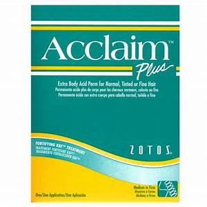 Acclaim Plus Extra Body Acid Perm  Zotoshair  U0026 Skin Products