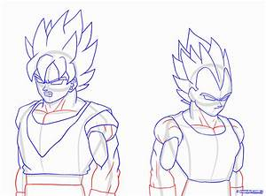 How to Draw a Super Saiyan, Super Saiyan, Step by Step ...