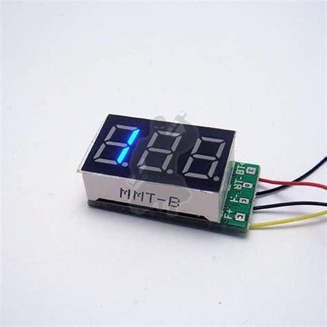 ohm meter blue led ohm resistance meter