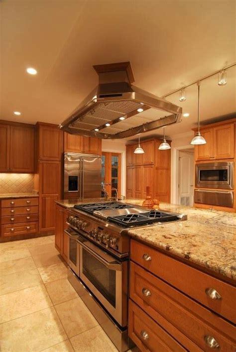 kitchen island stove pinterest