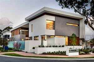 Fachadas modernas de estilo contemporáneo