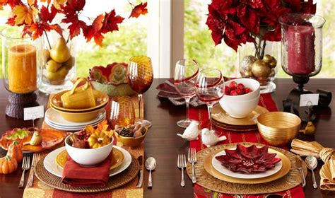 deco table automne d 233 co automne pour la table festive en 25 id 233 es originales