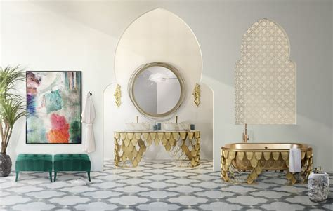 Beautiful Moroccan Style Ideas For Your Luxury Bathroom