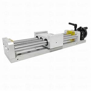 Manual Linear Stage Actuator Slide Module 200mm Motion