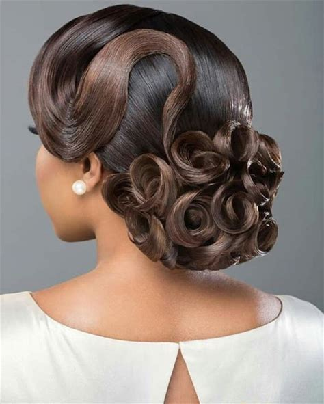 Updo Hairstyles For Black Wedding by 20 Wedding Updo Hairstyles For Black Brides Page 2