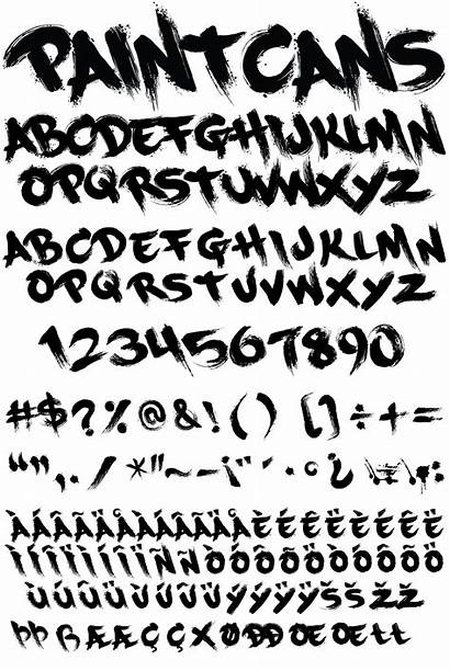 Graffiti Fonts Font Type