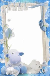 Рамка с овечкой для мальчика