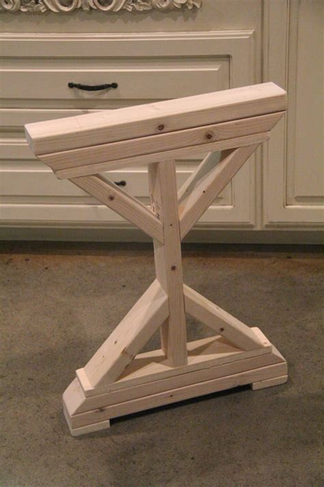 how to make table legs from wood diy desk for bedroom farmhouse style shanty 2 chic