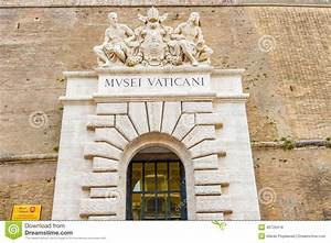 Entrance To Museum In Vatican Editorial Stock Photo Image: 46726418