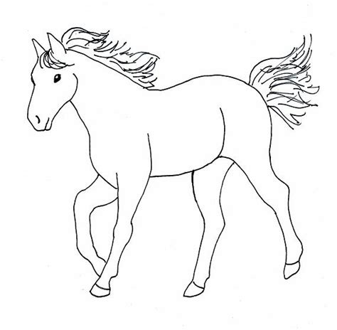 cartoon horse coloring pages  coloring pages