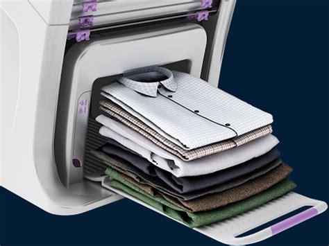 machine a repasser automatique ces 2018 foldimate la machine qui plie automatiquement votre linge sera disponible en 2019