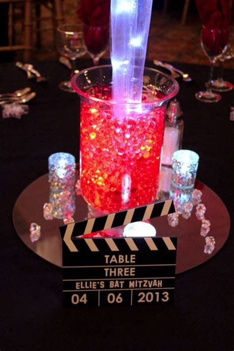 clapboard table sign centerpiece perfect
