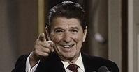 Watch How Manly Reagan Handles Gunshot Sound During Speech