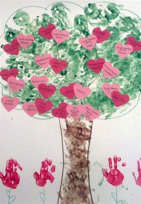 preschool family tree project arts amp crafts 893 | b4fc2a21322337b6cb8336e1df14fc75