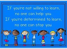 Wenn du unbedingt lernen willst