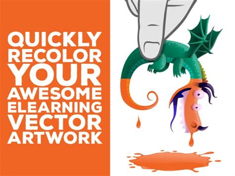 quickly recolor  vector images elearning brothers