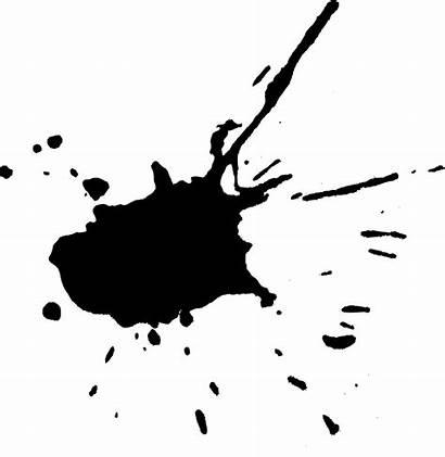 Paint Stain Clipart Transparent Splash Splatter Splatters