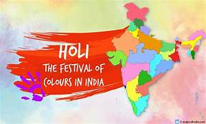 Holi Wallpapers... India Map Quotes