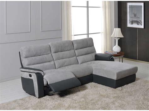 canapé d angle relax pas cher canapé d 39 angle relax manuel 5 places mike canapé