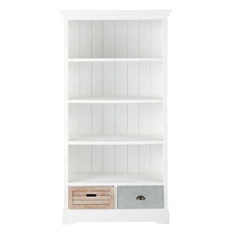 libreria maison du monde libreria in legno l 100 cm ouessant maisons du monde