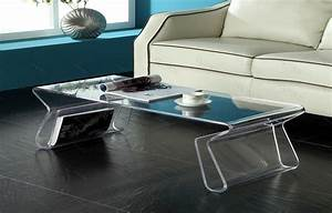 acrylic coffee table ideas eva furniture With black acrylic coffee table