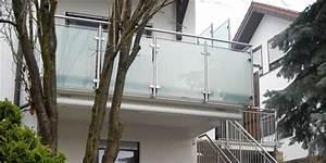 Balkongeländer Glas Anthrazit : edelstahl balkongel nder mit glasplatten elegant und langlebig ~ Michelbontemps.com Haus und Dekorationen
