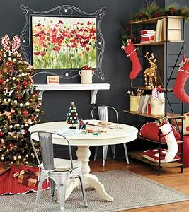 Stylish, Home, Office, Christmas, Decoration, Ideas, And