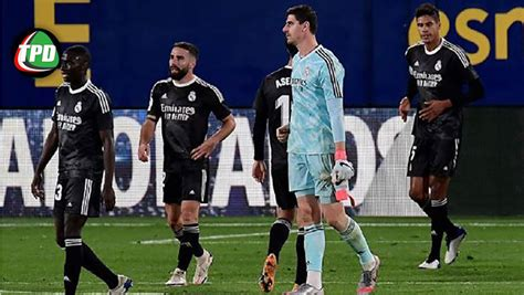 Real Madrid empató 1-1 con Villarreal por la fecha 10 de ...
