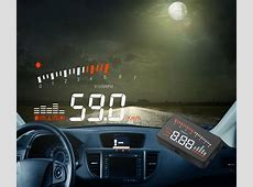 Car OBDII HUD Head Up Display with Overspeed Low Voltage