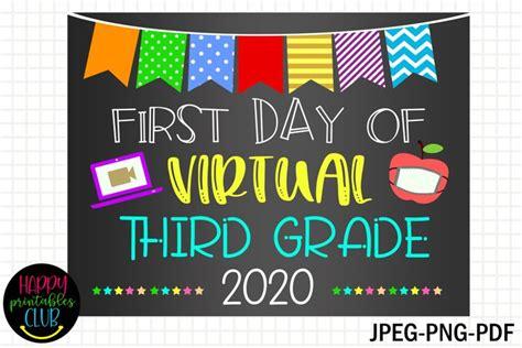 day virtual  grade sign  day
