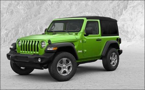 2020 Jeep Wrangler Jl by 2020 Jeep Wrangler Jl Hardtop Price Msrp