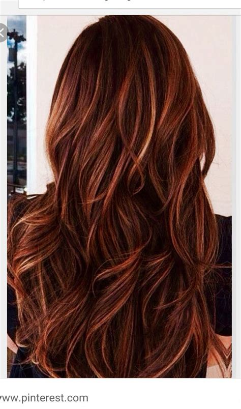 hair colors with highlights 1000 ideas about mahogany hair colors on