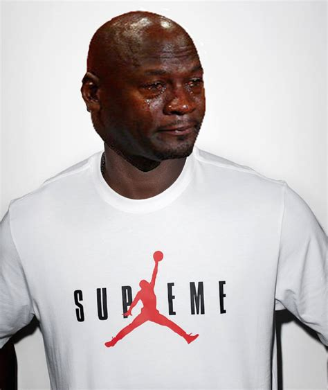 Jordan Crying Meme - 20 times michael jordan cried over sneakers this year sole collector
