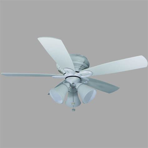 hton bay maris indoor white ceiling fan manual