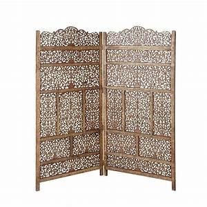 Tete De Lit Paravent : t te de lit en bois l 160 cm alhambra maisons du monde ~ Teatrodelosmanantiales.com Idées de Décoration